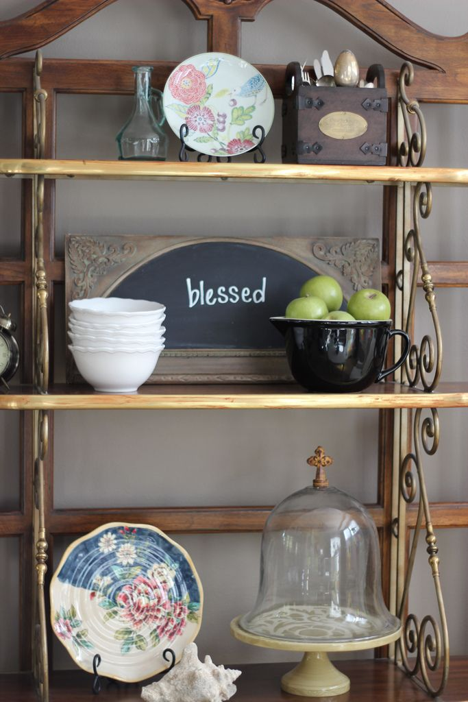 44 best Ideas for Decorating Bakers Rack images on Pinterest ...