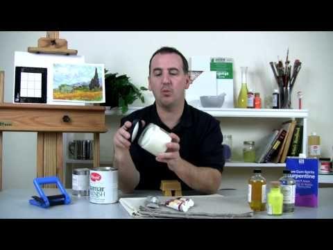 dorland wax medium instructions