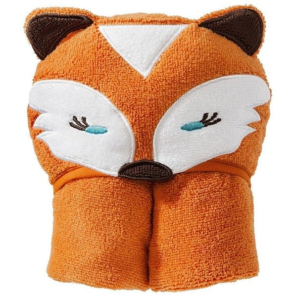 Circo Fox Hooded Towel ($15) found on Polyvore