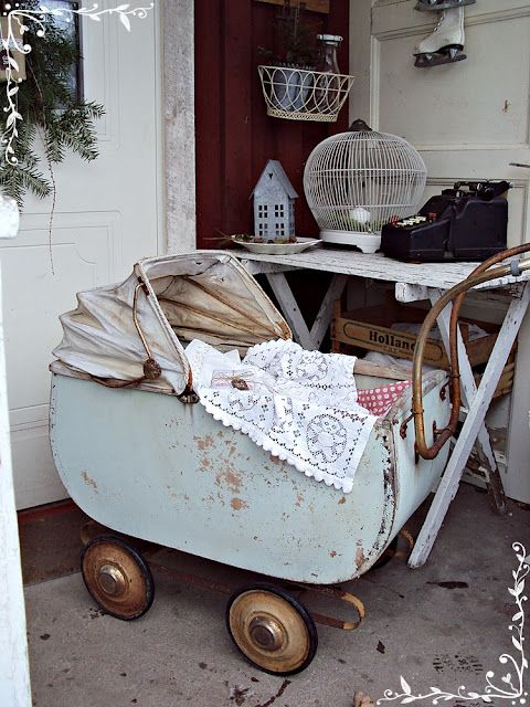 Bod di Sofia: una vecchia carrozzina .....
