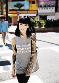 Resultado de imagen para tattoos tumblr hipster girls