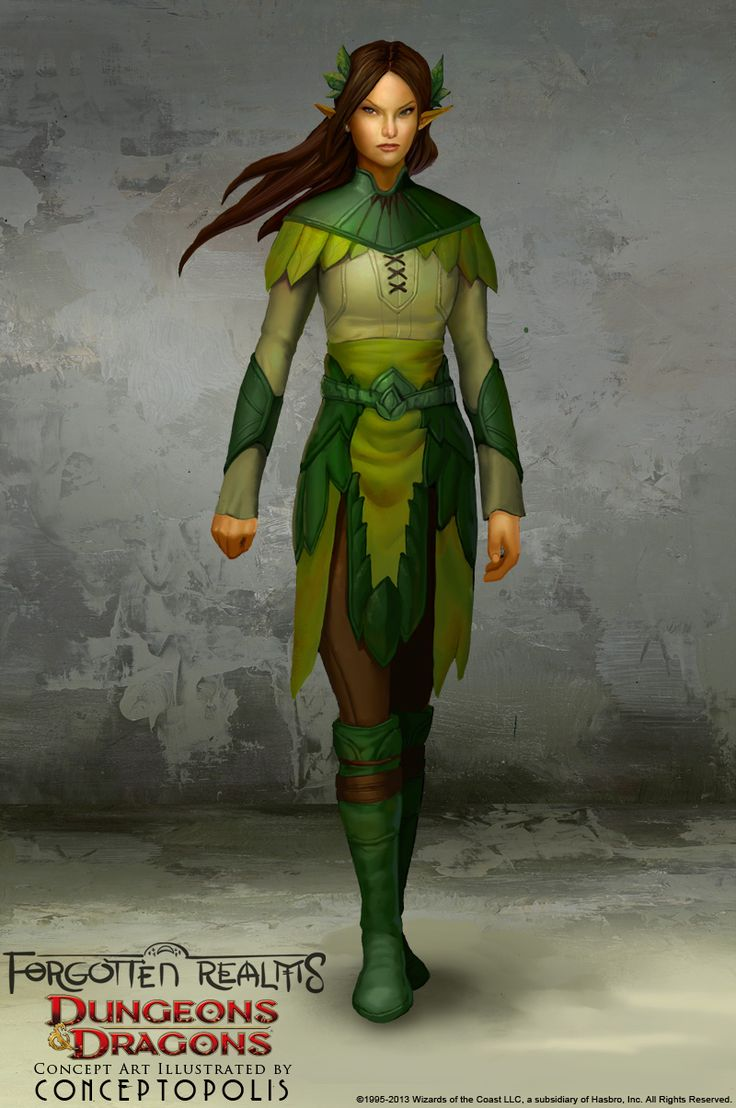 Wood Elf (female) by Conceptopolis.deviantart.com on @deviantART