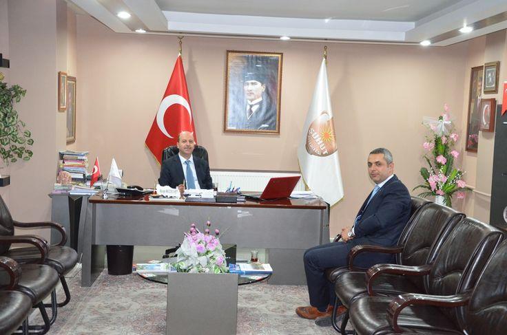 AKSA bölge müdürü Bozkurt'u ziyaret etti