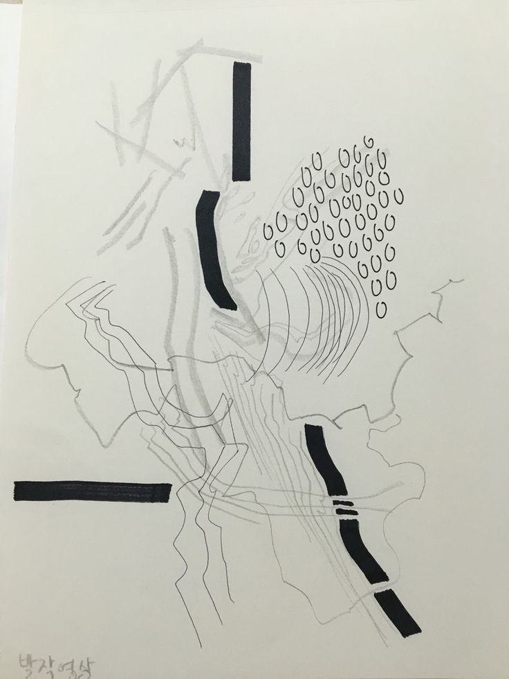 발작_마커, 펜, 연필.
