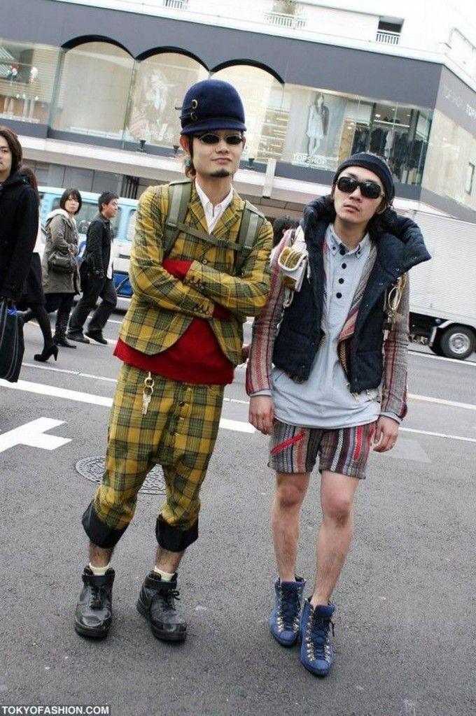Японская мода, суровая и беспощадная