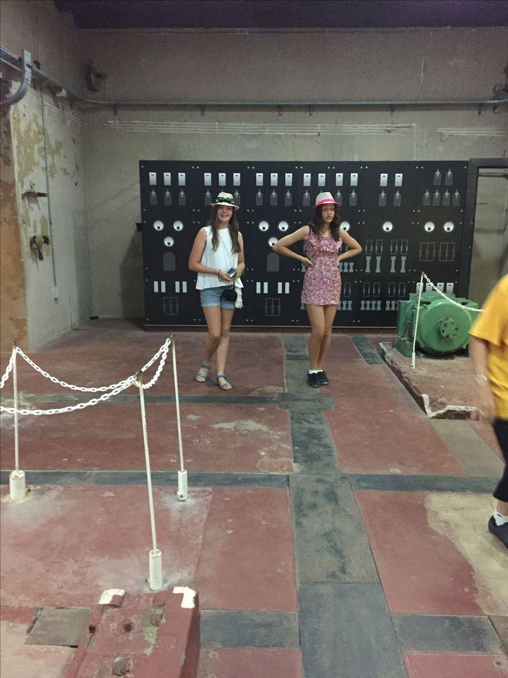 Gun tunnels rotto engine room