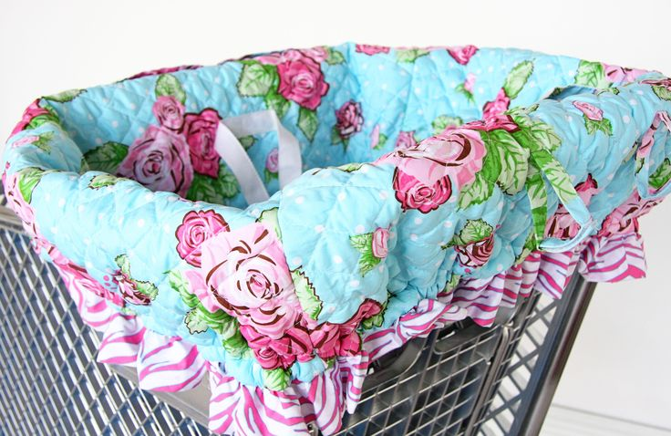 patterns for shopping cart covers for babies | Baby Shopping Trolley Cover Pattern