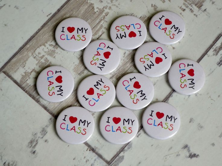 I Love My Class badges heading out to a lovely teacher in Harrogate. Our badges … – Button badges