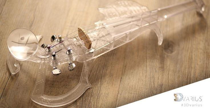 3Dvarius, un violín eléctrico impreso en 3D que puede ser tuyo por 6.299 euros - http://www.hwlibre.com/3dvarius-violin-electrico-impreso-3d-puede-tuyo-6-299-euros/