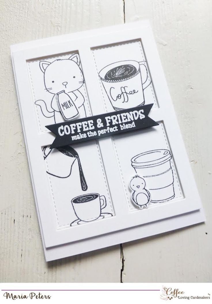 72 best Coffee and Tea Cards images on Pinterest