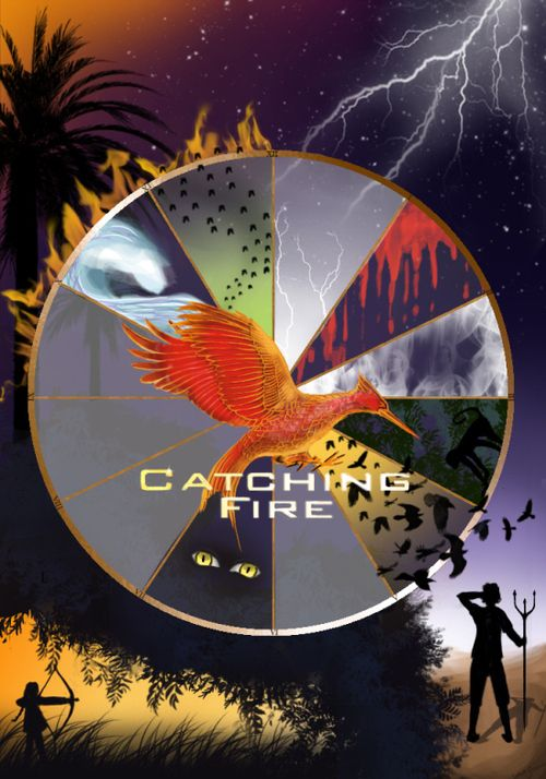 Catching Fire Clock Check out the Dark Days Series while you wait! Loosely based prequel to the Hunger Games. www.facebook.com/TheDarkDaysSeries