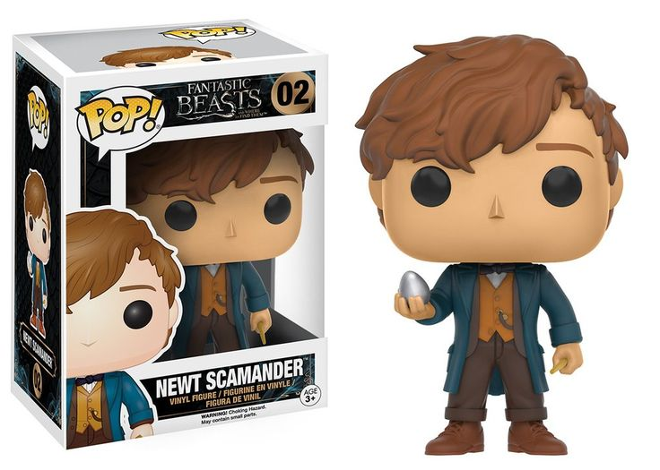 Pop! Movies: Fantastic Beasts and Where to Find Them - Newt Scamander
