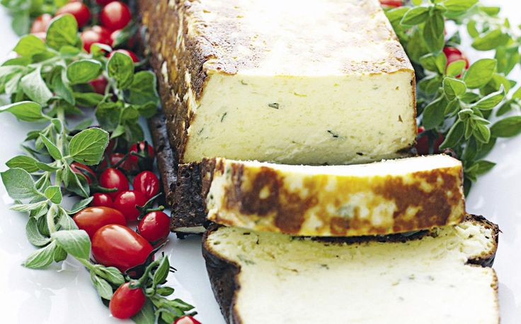 Baked ricotta cheese with fresh eggs is so simple! Delicious as a snack, part of a share plate or on its own. Recipe by the Australian Women's Weekly.