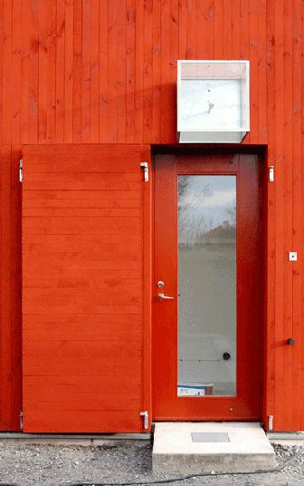 Falu -- a tradition shade of red, in Swedish design and architecture. #red #color #Sweden