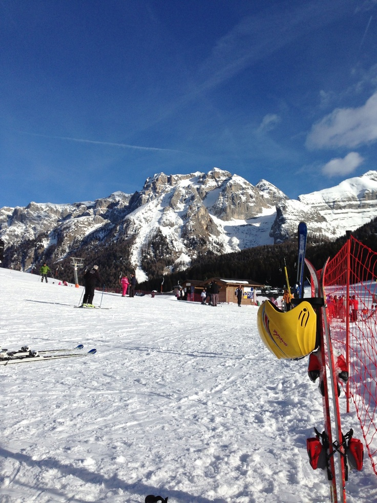Madonna Di Campiglio The Dolimites Italy Amazing Views Amazing Skiing