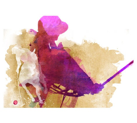 Polo - Top Magazine UK - Illustration by ©Luis Tinoco - WWW.LUISTINOCO.COM