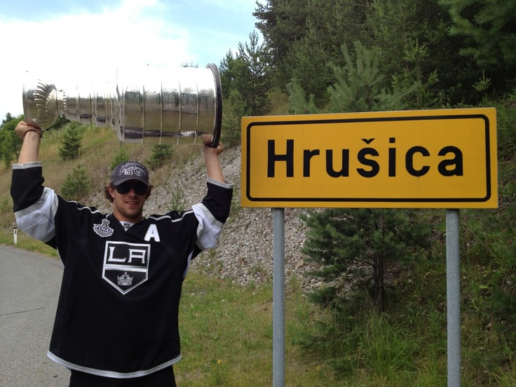 Home is where the heart is...and the Stanley Cup: Anz Kopitar, Cups Champions, Stanley Cups