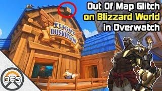 OCG Glitch Out of Map on Blizzard World in Overwatch