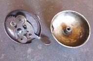 Vélo- ancienne sonnette AFA Métal et aluminium  Réf 01