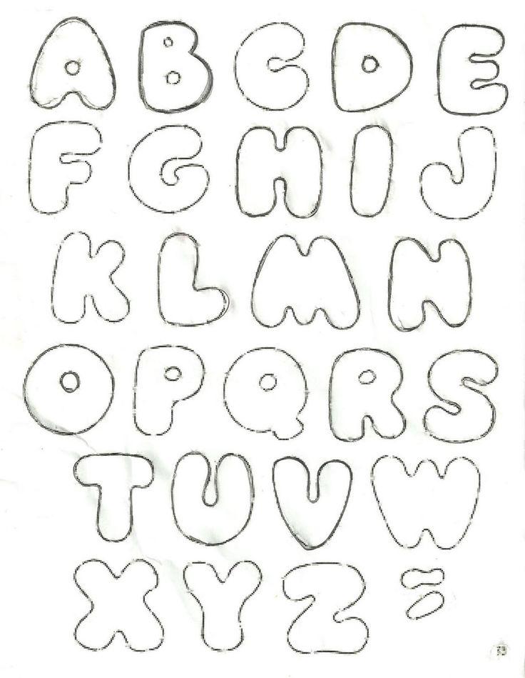 Para Cortar Graffiti Hawaii Molde Letras Imprimir Minuscula Picture