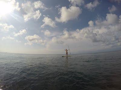あさみのバリ倶楽部ブログ: バリ島!パダンパダンビーチでパドルボート♪