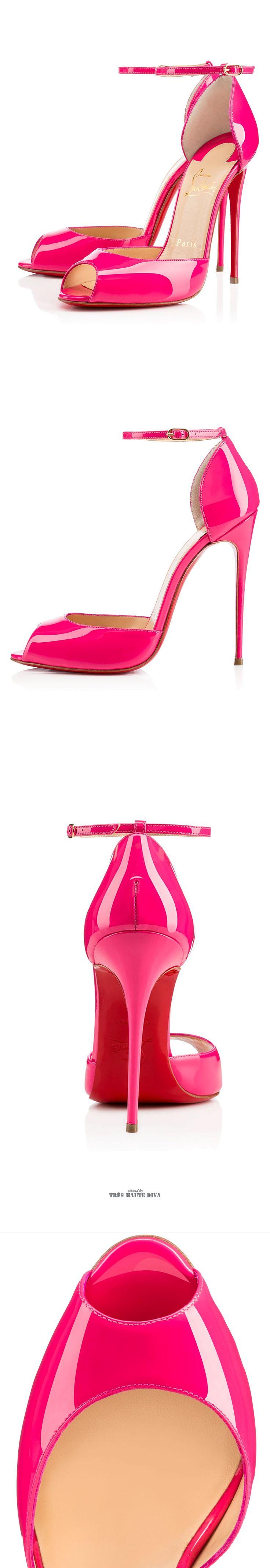 Christian Louboutin 'Gardnera' Hot Pink ♔THD♔