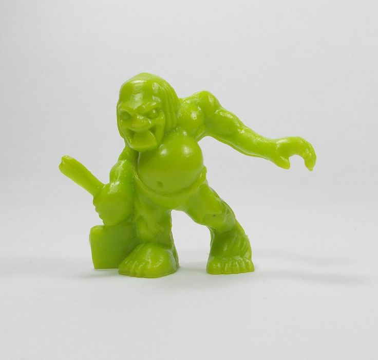 Monster In My Pocket - Series 1 - 37 Ghoul - Olive Green