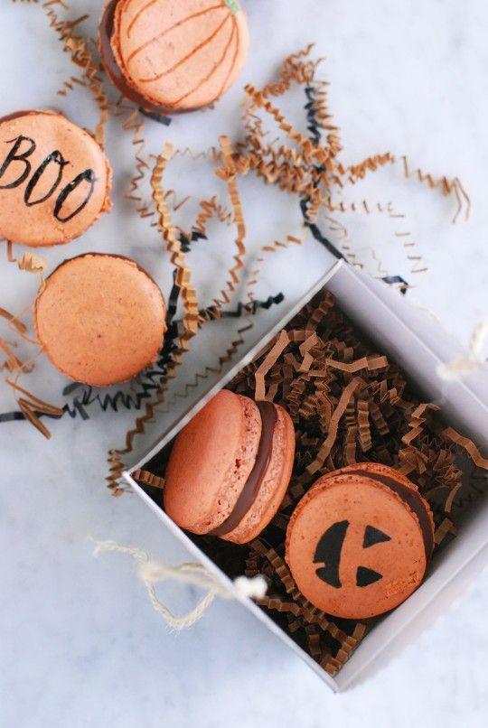 DIY // Spooky & Sweet Macarons
