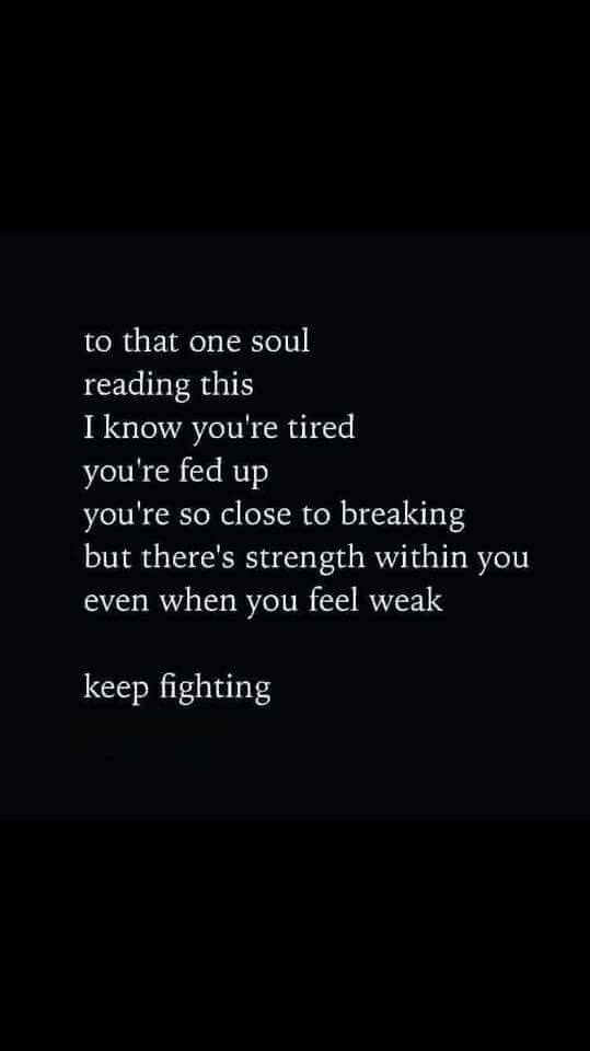 To that one soul                                                                                                                                                                                 More