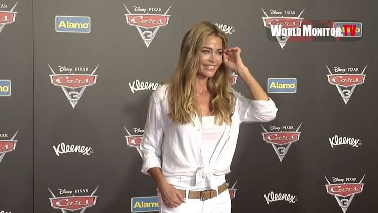 Denise Richards and her Kids arrive at 'Cars 3' Anaheim premiere