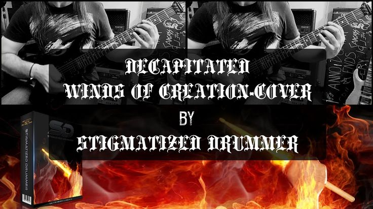 Decapitated Winds Of Creation Cover-Stigmatized Drummer
