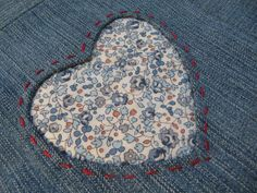 Reverse applique without the fraying