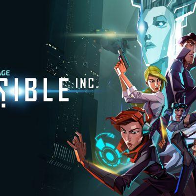 Invisible, Inc. Character Wallpaper