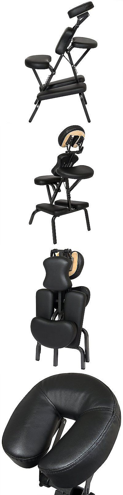 Massage Tables and Chairs: Massage Therapy Chair Table Portable Recliner Tattoo Artist Folding Best - Black BUY IT NOW ONLY: $112.77 #massagetablesportable