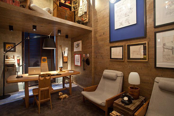 Studio do Designer por Dani Parreira e Flavia Santoro – Casa Cor 2012