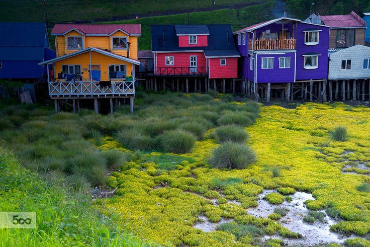 Palafitos - Castro (Chiloe Island) by Jorge Leon on 500px