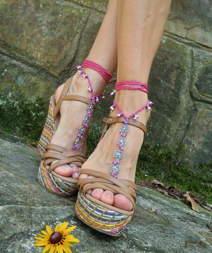 Pearl leather sandals pink gold young soles shoes teen
