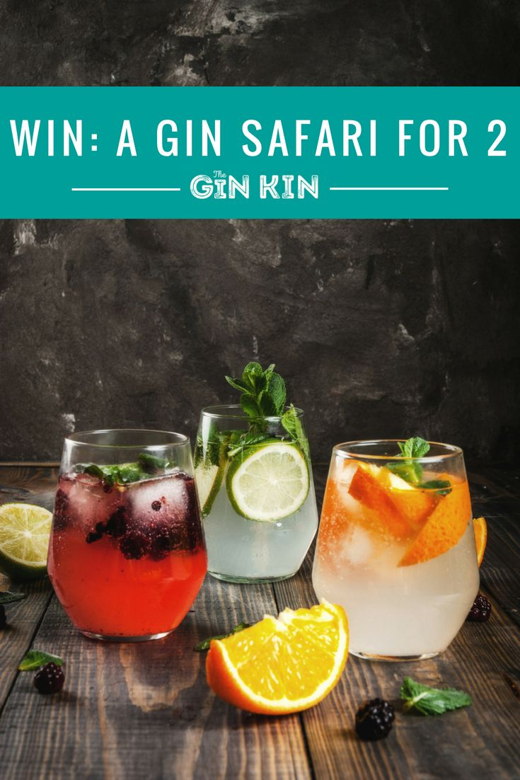We've teamed up with our eccentric friend Mr Fogg's to offer you the chance to win a Gin Safari tasting masterclass for two.  Enjoy one and half hours of expert tuition on all things gin, botanicals and tonics, then wrap your taste buds around six different gins before finishing up with a couple of G&Ts. Bliss!  *Travel not included. All entrants must be over 18. Please drink responsibly.  #gin #win #competition #cocktails