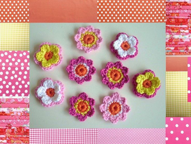 2-laags bloemetjes en enkele bloemetjes