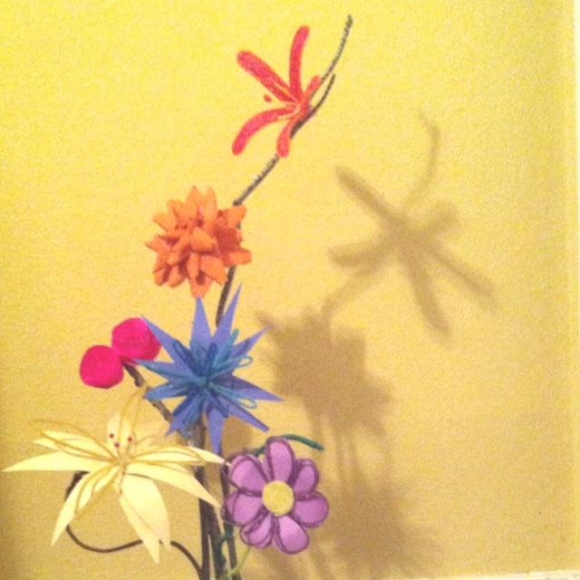 DIY Flowers I made for grandma's 84th birthday!: Diy Flowers, 84Th Birthday
