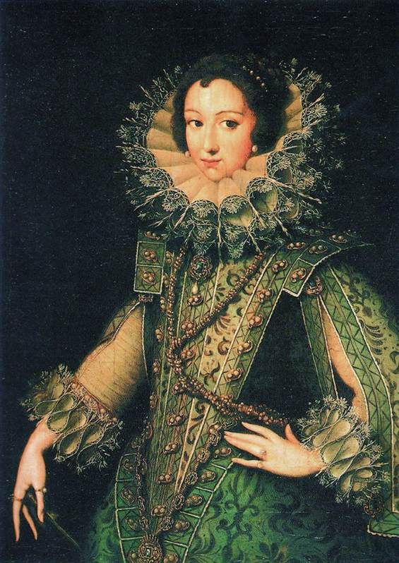 Portrait of an Unknown Lady (ca. 1610), by Rodrigo de Villandrando