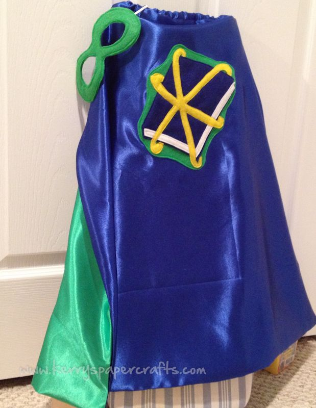 Super Why cape DIY! Must make this... Bradleigh loves this show!!