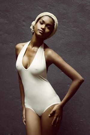 Pin by Gabriel Ames on Tanya Manganyi  Swimwear African models Tops