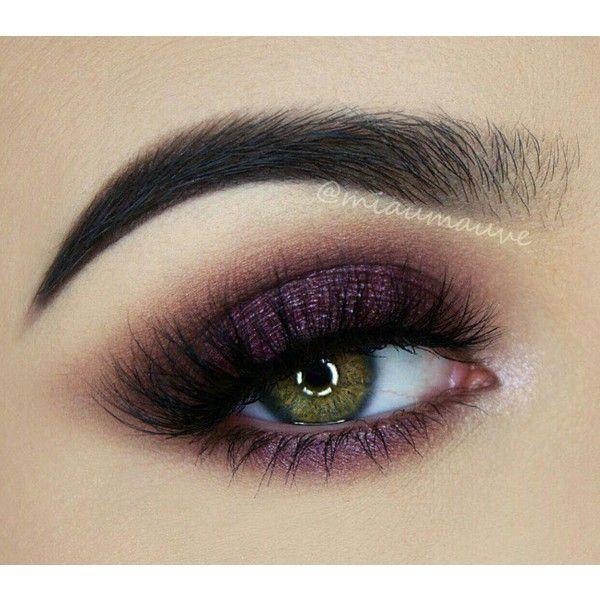 ♡ dramatic plum smokey eyes makeup tutorial!   melissa samways.
