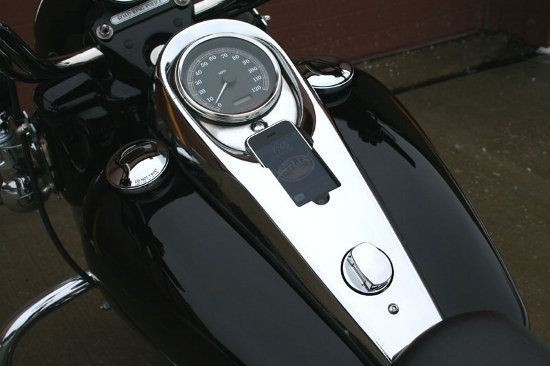 iphone en la moto