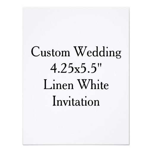 Linen Bridal Shower Invitations