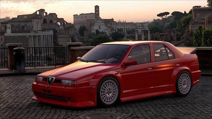 Alfa Romeo 155 V6 Ti Stradale 93 Oleg Z Alfa Romeo 155 Alfa Romeo 156 Alfa Romeo Brera