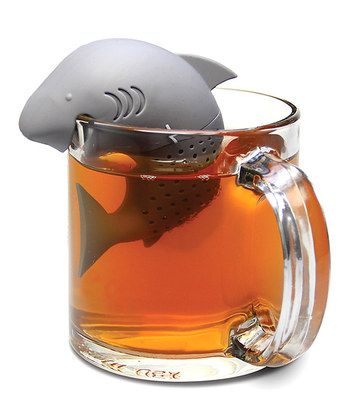 Tea infuser of jawtastic proportions