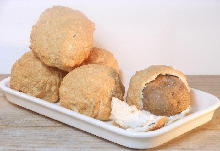 Aardappels in zoutkorst