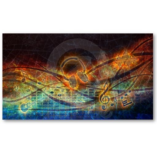 music designer business card  New design in my store! :) All products with this design you can find here: http://www.zazzle.com/ann_geldesign/gifts?gp=105509534026261086